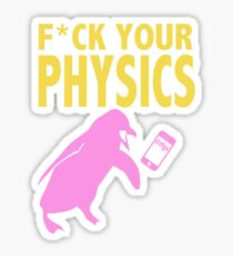 Nagisa || Physics (censored) Sticker