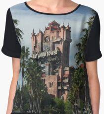 Disney's Tower of Terror Women's Chiffon Top