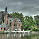 Brugge - 4, Belgium by Peter Wiggerman