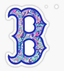 Boston B Sticker