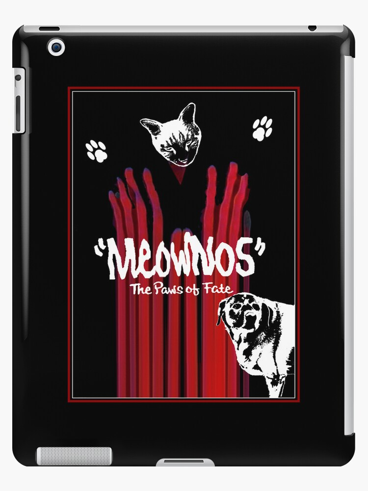 """""""Meownos"""" The Paws of Fate iPad Case by Margaret Bryant"""
