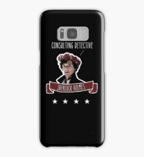 Consulting detective Sherlock Holmes Samsung Galaxy Case/Skin