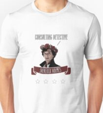 Consulting detective Sherlock Holmes Unisex T-Shirt