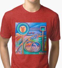 JuNe. Tri-blend T-Shirt