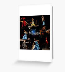Toca Flamenco by BeDoubleYou Greeting Card