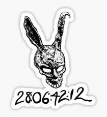 Donnie Darko Numbers Sticker