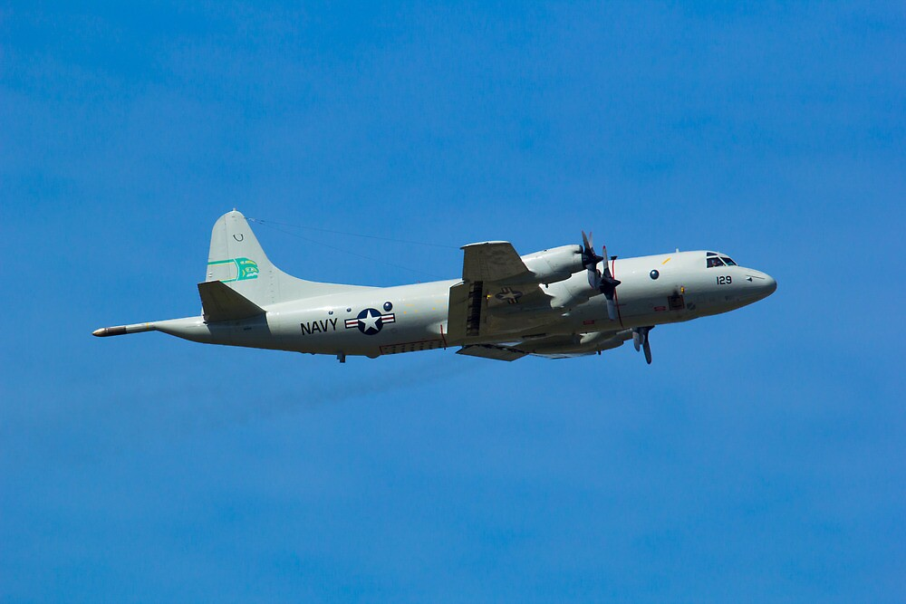 P3-Orion submarine hunter by RandyHume