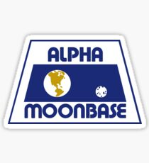 Moonbase Alpha Logo Sticker