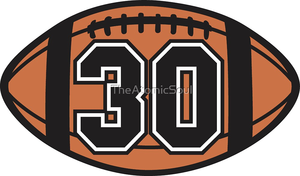 Football 30 by TheAtomicSoul