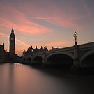 'Big Ben' Sunset, London by Ursula Rodgers Photography