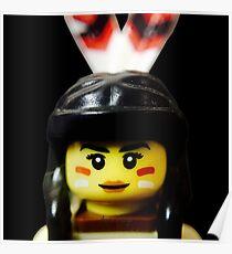 Tribal Woman Poster