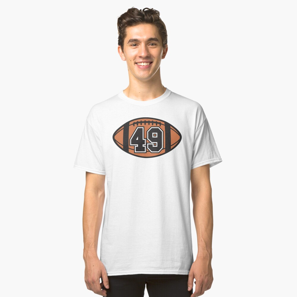 Football 49 Classic T-Shirt Front