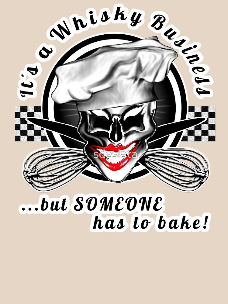 Lady Skull Baker: Whisky Business by sdesiata