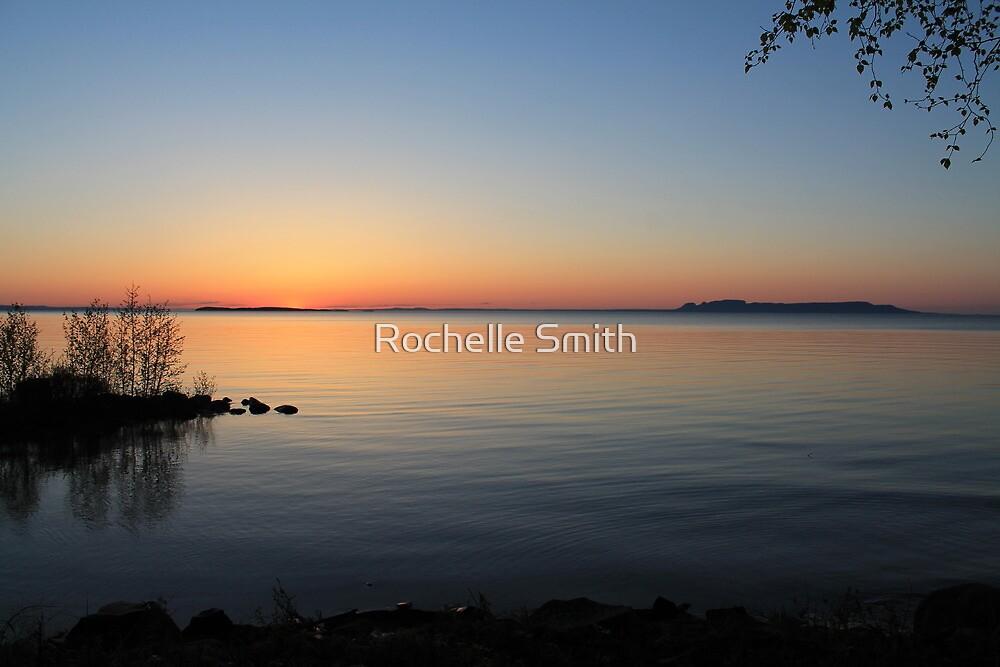 Lake Superior Sunrise by Rochelle Smith