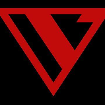 Alternative Logo Minimal Red by cromarlimo