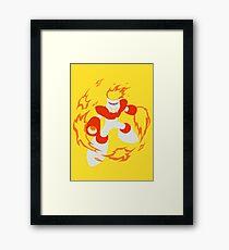 Fire Man Framed Print