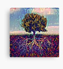 Abstract Tree of Life Canvas Print