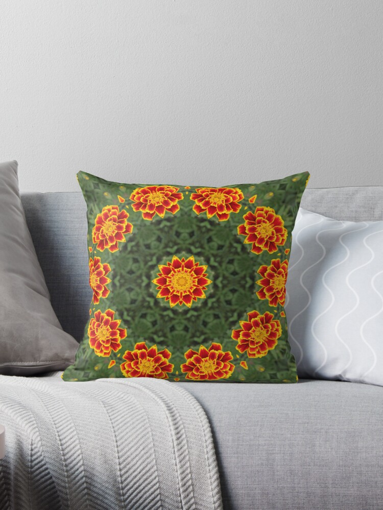 Marigold Pillow  by NewfieKeith