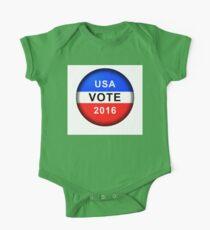 Vote Button 2016 Kids Clothes