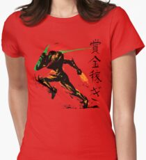 Samus Aran Womens Fitted T-Shirt
