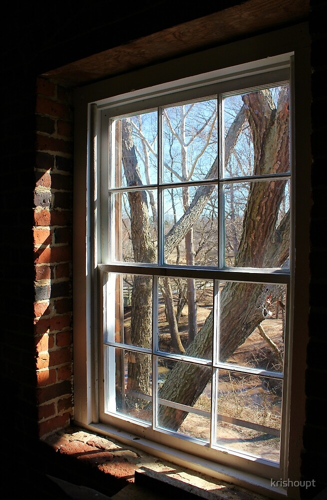 Old Mill Window by krishoupt