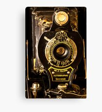 Kodak No. 2 Folding Autographic Brownie Canvas Print