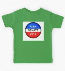 Vote Button Senate Kids Clothes