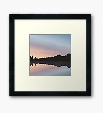 Summer Sunsets Framed Print