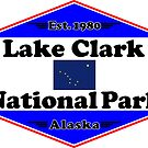 LAKE CLARK NATIONAL PARK ALASKA MOUNTAINS HIKING CAMPING HIKE CAMP 1980 by MyHandmadeSigns