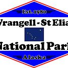 WRANGELL - ST. ELIAS NATIONAL PARK ALASKA MOUNTAINS HIKING CAMPING HIKE CAMP 1980 by MyHandmadeSigns