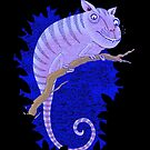 Cheshire Cat Chameleon by SusanSanford