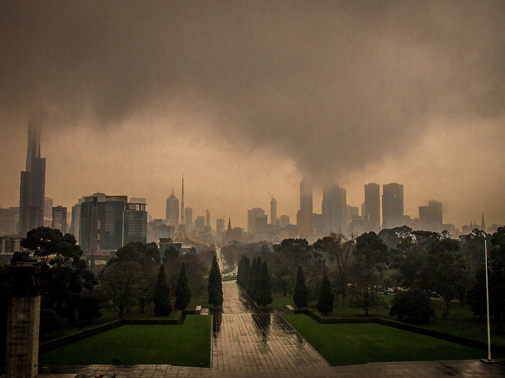 First Day of Winter in Melbourne by PrimrosePress
