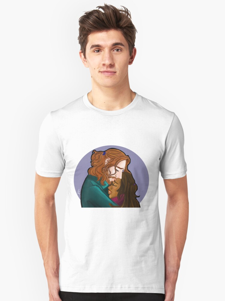 Sleepy Hollow- I forge my fate with you Unisex T-Shirt Front
