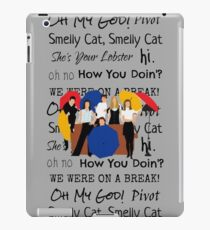 Friends Tv Show Quotes iPad Case/Skin