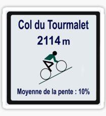 Col Du Tourmalet Sticker