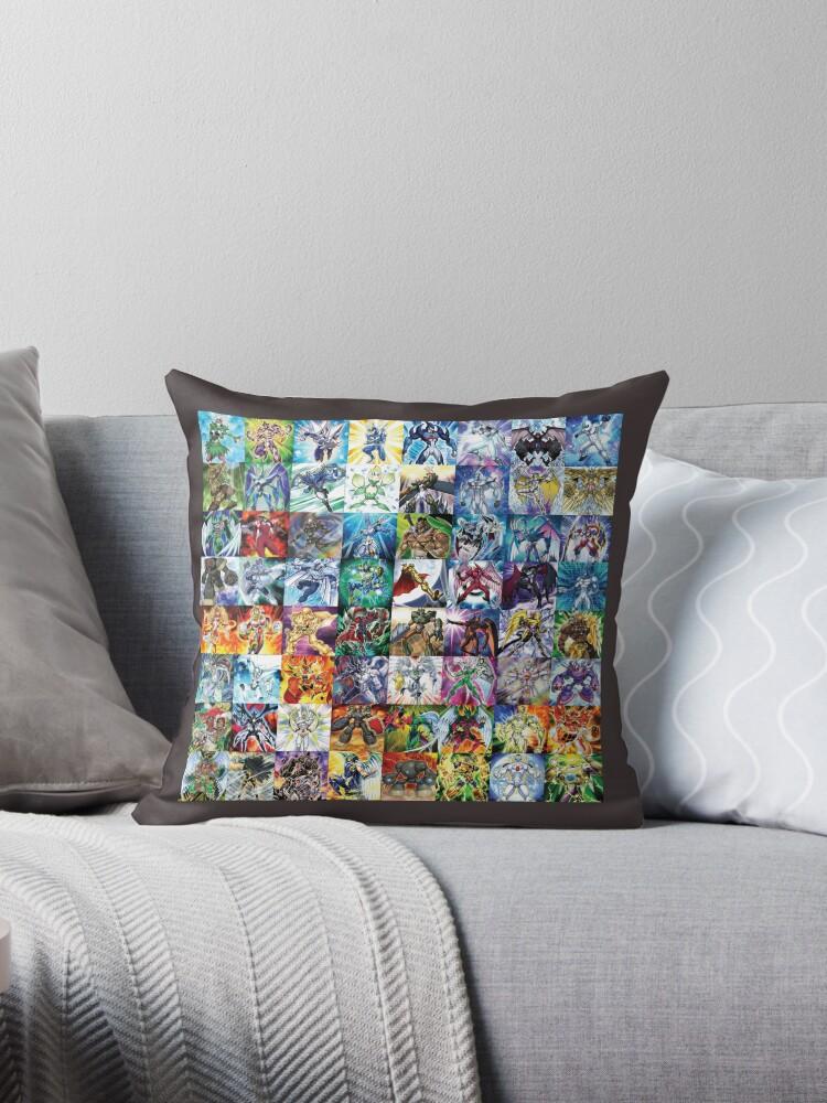 Elemental Hero Pillow by DragonBoyAC