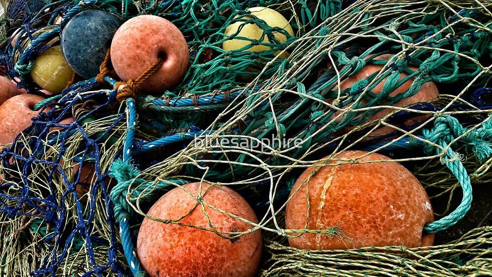 Nets And Balls On The Warf  by bluesapphire