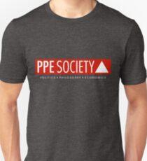 PPE large logo (on dark) Unisex T-Shirt