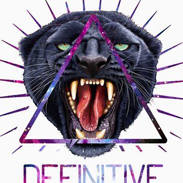 Panther Head illuminati  by Pickadree