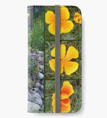 Golden light shining collage iPhone Wallet/Case/Skin