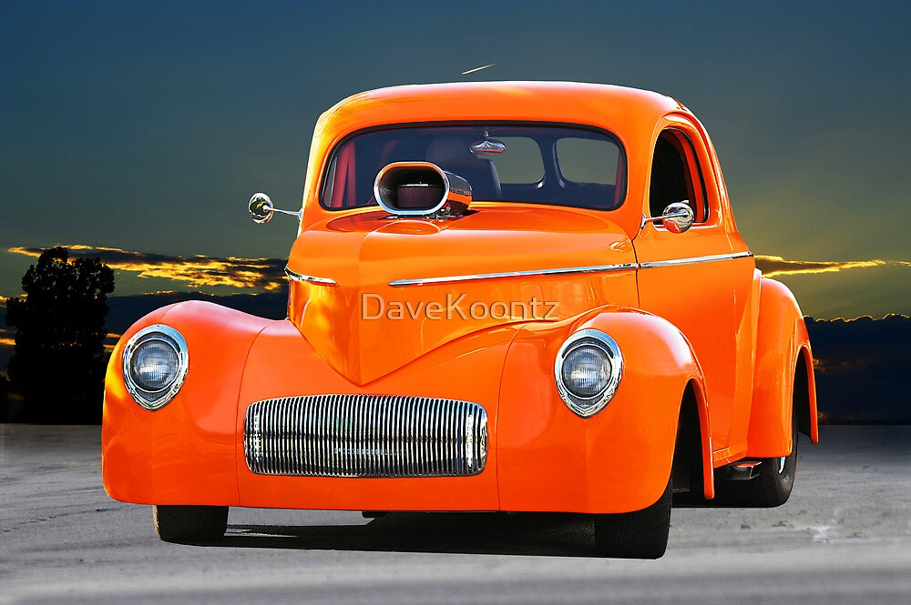 1941 Willys Coupe by DaveKoontz