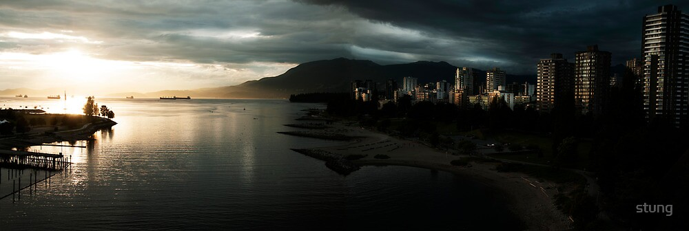 English Bay  by Stung  Photography