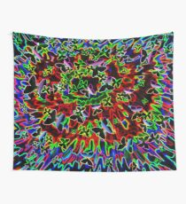 electric butterfly art  Wall Tapestry