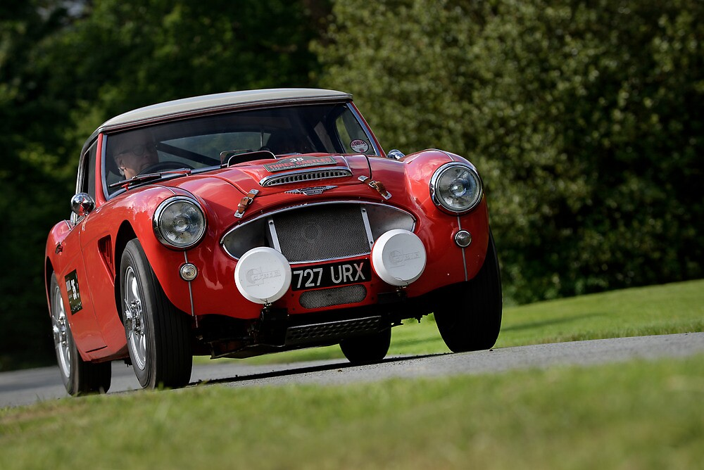 The Three Castles Welsh Trial 2014 - Healey 3000 MK11 by Three-Castles