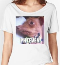 Phteven Women's Relaxed Fit T-Shirt
