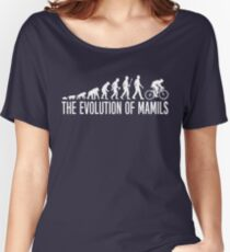 Cycling MAMIL Evolution Women's Relaxed Fit T-Shirt
