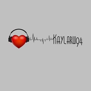 Heartbeat Tattoo- Grey by TheKaylaWatson