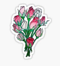 Rosebud Posy Sticker