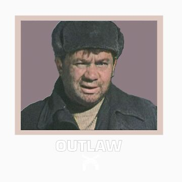 OUTLAW print - Soviet movie stars series by ebolaproduction