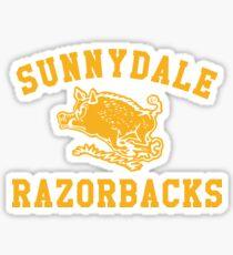 Sunnydale Razorbacks Sticker